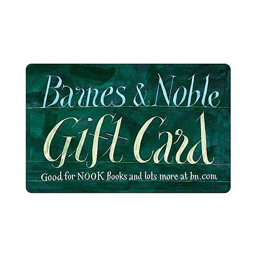 $50 Gift Certificate for Barnes & Noble