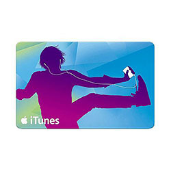 $25 Gift Certificate for iTunes