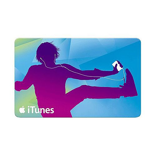 $50 Gift Certificate for iTunes