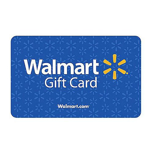$25 Gift Certificate for Walmart