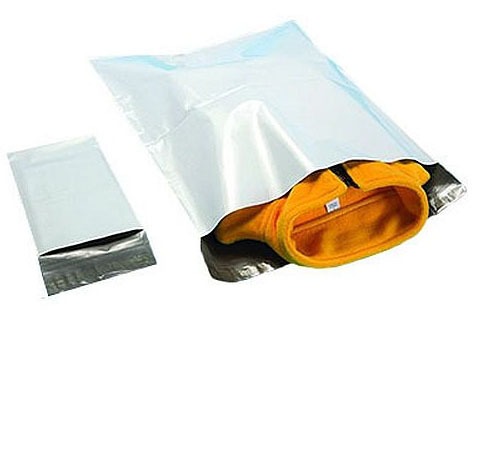 Tamper-Proof Water-Resistant Poly Mailers with Permanent Tape Closure