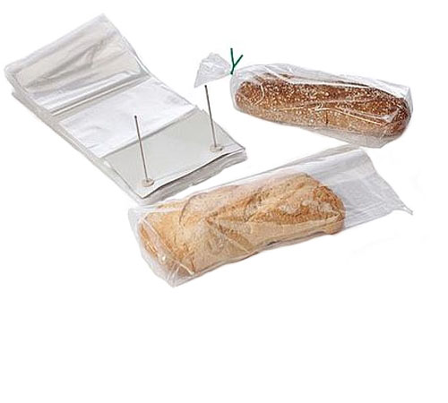 Clear Wicketed Bread Bags 1 mil