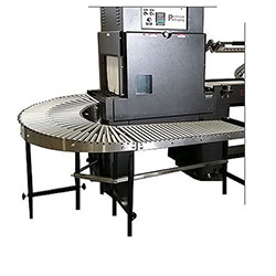 Preferred Pack PP180-36 Gravity Curve Conveyor